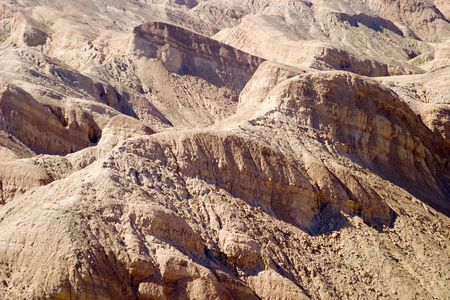 Eroded hills formation at the eastern end of Anza Borrego Desert.