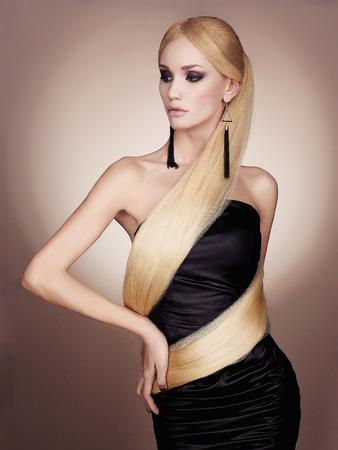 Hairy blond girl