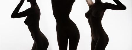 Corps de femmes nues collage.perfect silhouette femme corps Banque d'images - 91792029