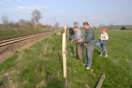 Normandy, France, April 2010.