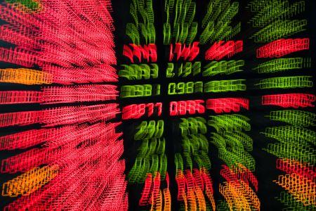 stock ticker board: stock market 03