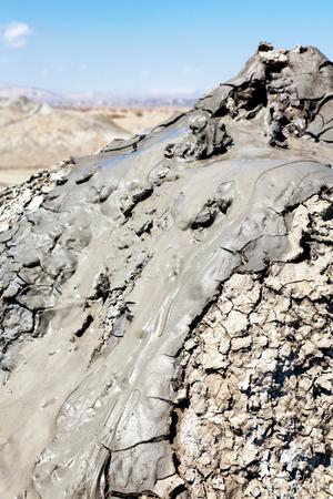 baku: Gobustan mud volcano in Azerbaijan (Qobustan, close to Baku)