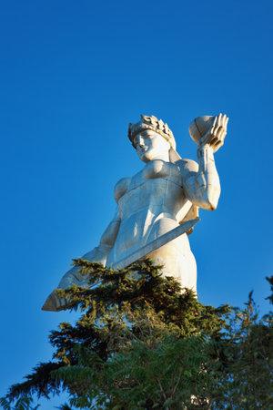 Tbilisi, Georgia - October 05, 2016: Statue of Mother Georgia