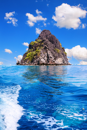Big rock island, Moo Koh Chumphon, Chumohon province, Thailand., Ngam Yai Island. Belongs to Marine National Park Chumphon, fishing and diving