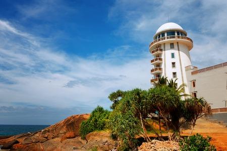 Lighthouse on the beach near Ambalangoda