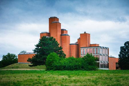 Kragujevac, Serbia - 17 July, 2016: Memorial museum and park 21 October in Kragujevac, Serbia. Deticated to victims of World War II, locates in Sumarice memorial park