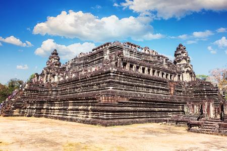 Ta Keo temple in Angkor Wat, Cambodia, Siem Reap Stock Photo