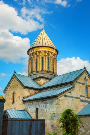 The Sioni Cathedral of the Dormition is a Georgian Orthodox cathedral in Tbilisi. Georgia Country locates in old town tiflis