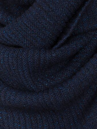 Knitted fabric dark wool cozy texture