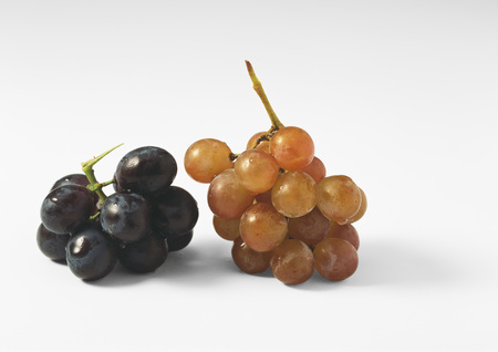 blanks: Black and red grapes