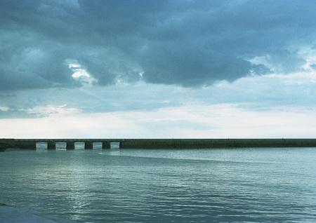 seascapes: Bridge and seascape