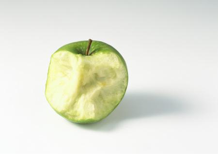 blanks: Half-eaten apple