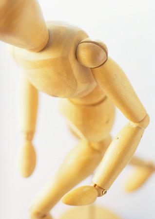 marioneta de madera: Figura del artista