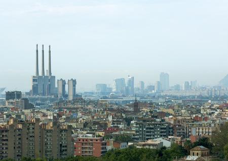 industrialised: Spain, Barcelona, cityscape LANG_EVOIMAGES