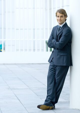 Businessman, full length portrait LANG_EVOIMAGES