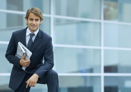 Businessman, portrait LANG_EVOIMAGES