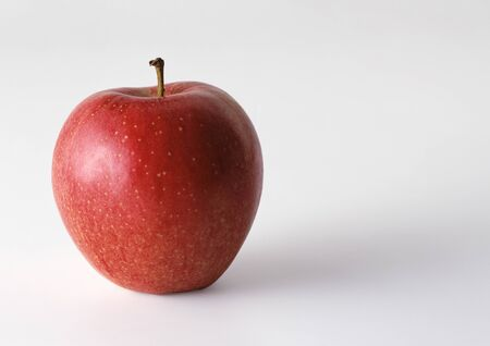 Red apple, close-up