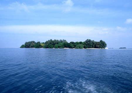 seascapes: Indonesian island
