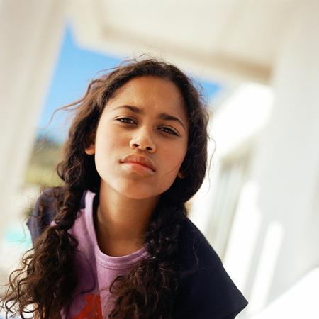 Girl, portrait LANG_EVOIMAGES