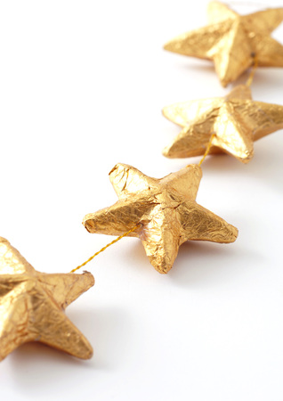 christmastime: Star garland