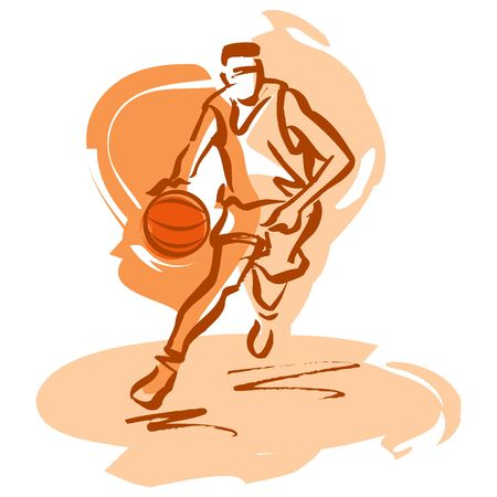 Basketball player LANG_EVOIMAGES