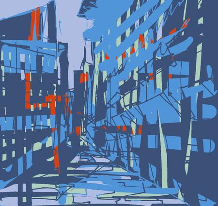 City scene LANG_EVOIMAGES