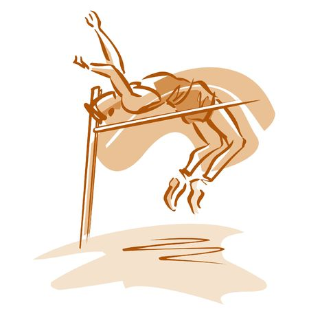 overcoming adversity: High jumper