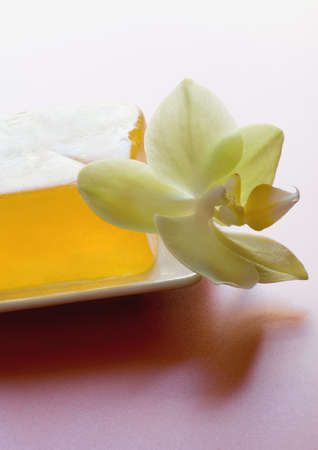 Soap and orchid blossom LANG_EVOIMAGES
