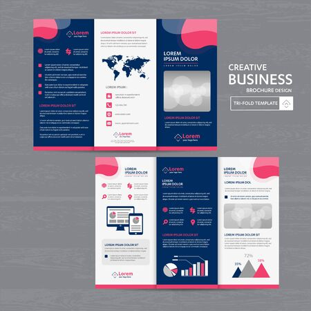 Corporate Business Identity template design stationery Vector abstract  background with memo Gift Items Color promotional souvenirs elements Ilustracja