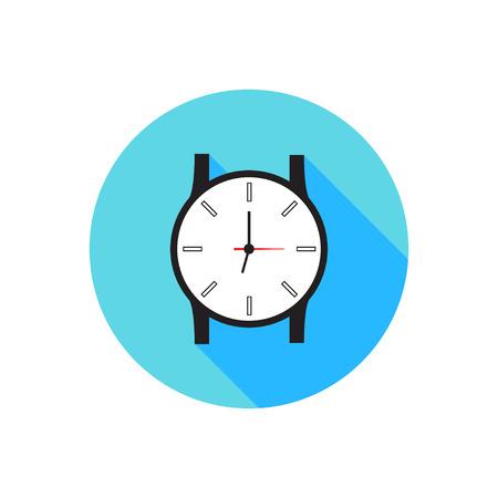 vecter: Icon Flat Design Watch Vecter EPS 10 Illustration