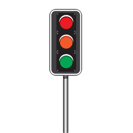 trafficlight: Traffic lights Illustrator Illustration