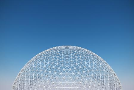 geodesic dome 版權商用圖片