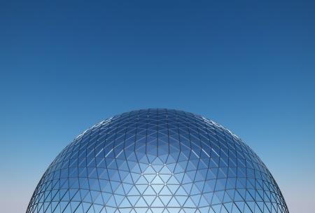geodesic dome Reklamní fotografie