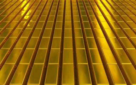 economic growth: gold bars