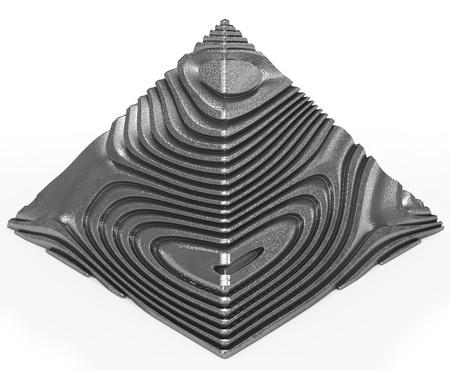 pyramid alien