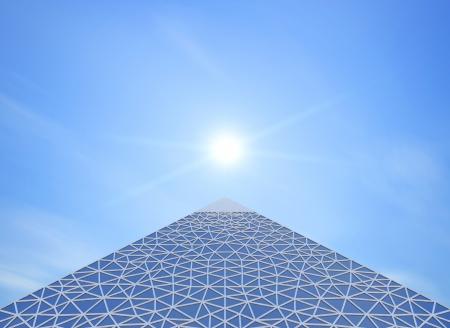 struts: pyramid contemporary
