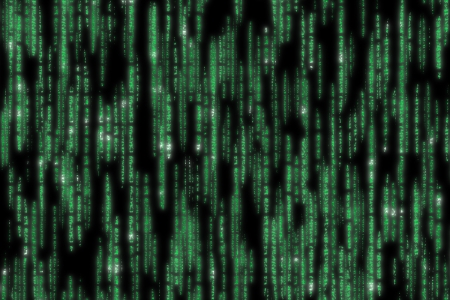 matrix code detailed Stock Photo