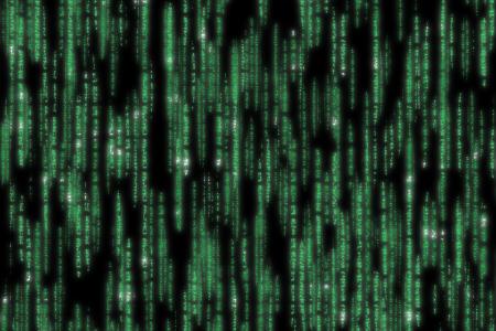 matrix code detailed 版權商用圖片