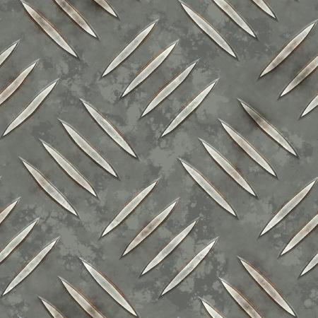 diamondplate: diamondplate metallo senza soluzione di continuit�