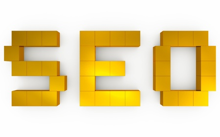 seo optimization 3d Stock Photo