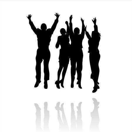 jump for joy: business winning team