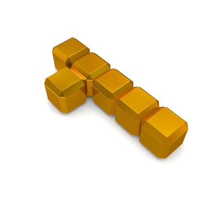 number 1 cubic golden