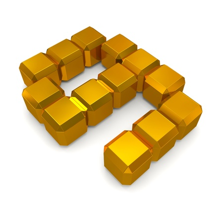 number 9 cubic golden