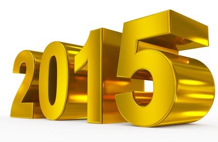 金: 2015 年 写真素材