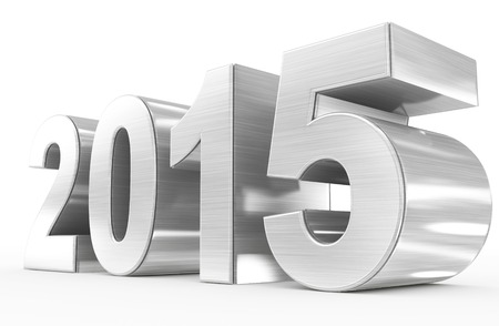 year 2015 Stock Photo