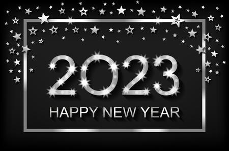 Bonne année 2023 - carte de voeux