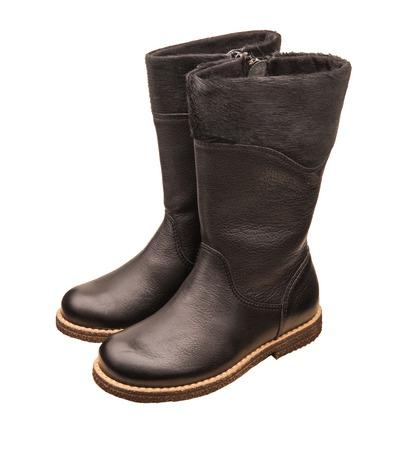 childrens autumn boots Standard-Bild - 109623777