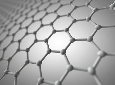 Graphene crystal lattice