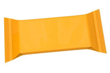 rectangular packaging on a white background Reklamní fotografie - 132012570