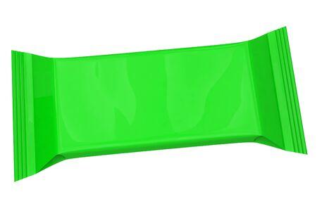 rectangular packaging on a white background Reklamní fotografie - 132013908